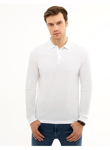 Pierre Cardin Sweatshirt Beyaz